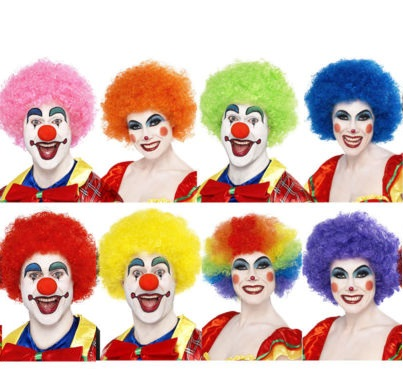 Crazy Clown wig  Thumbnail 1