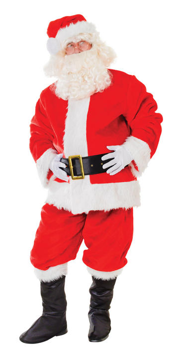 Santa Suit. Plush Deluxe Thumbnail 1