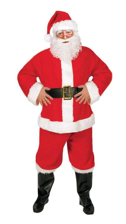 Santa Suit (Budget) 5 Piece Thumbnail 1