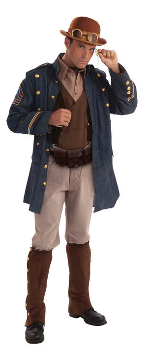 Adult Steampunk General Costume Thumbnail 1