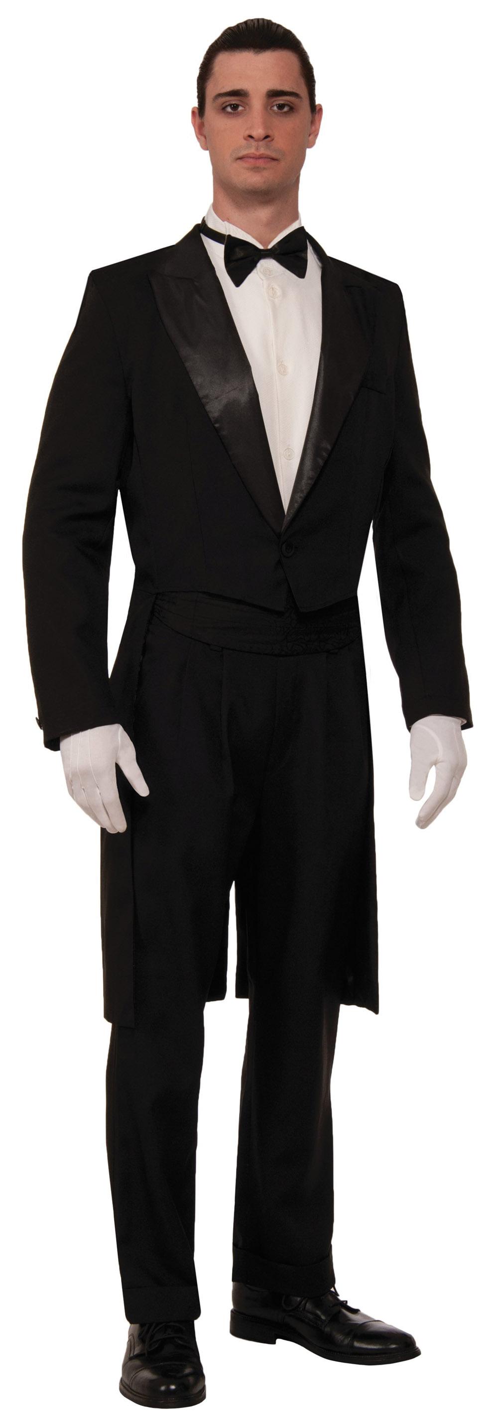 Adult Tuxedo Costume Thumbnail 1