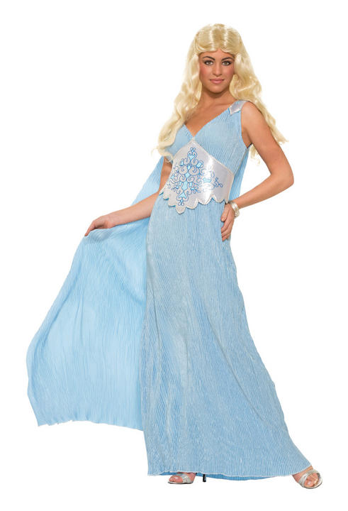 Adult Medieval Elegant Queen Costume Thumbnail 1