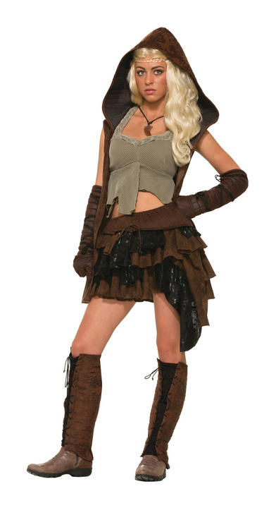 Adult Medieval Rogue Warrior Female Costume Thumbnail 1