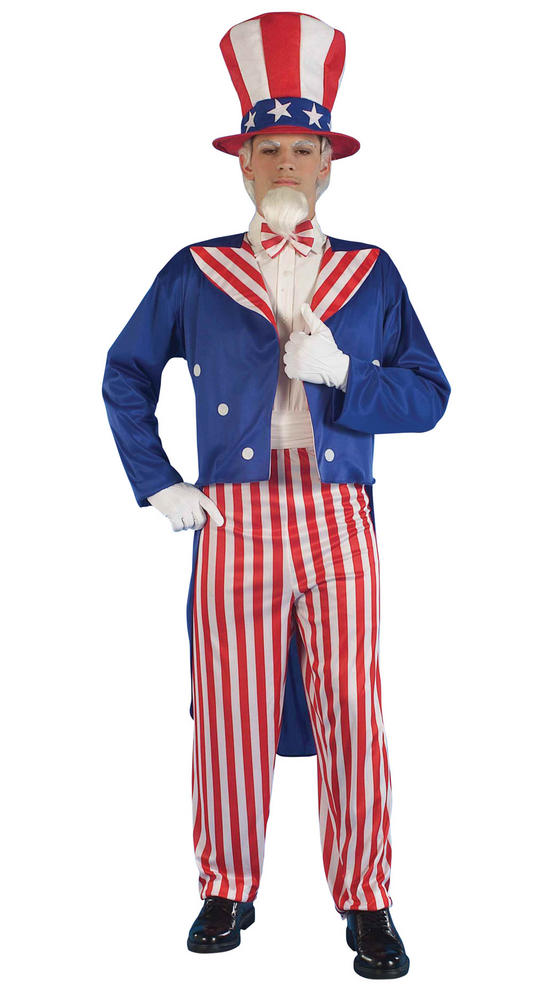 Uncle Sam Fancy Dress Costume