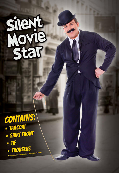 Adult Silent Movie Star Costume Thumbnail 2