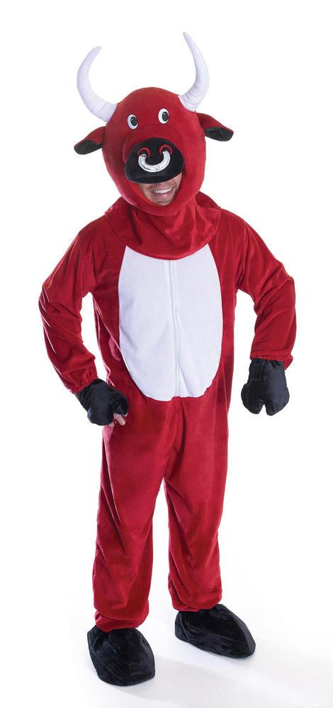 Adult Red Bull (Big Head) Costume