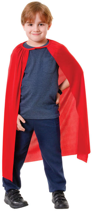 Superhero Cape. Red Thumbnail 2