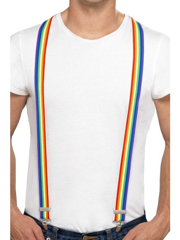 Adult Rainbow Braces