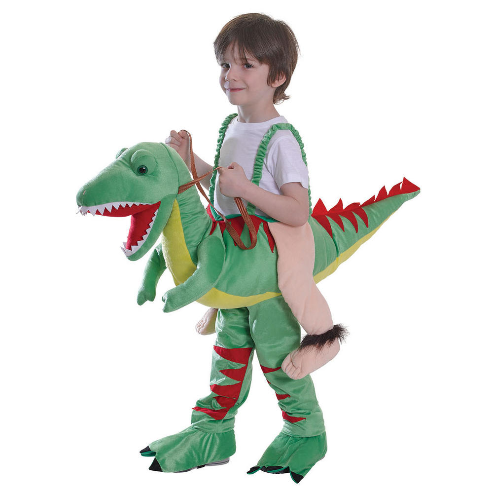 Childs Riding Dinosaur