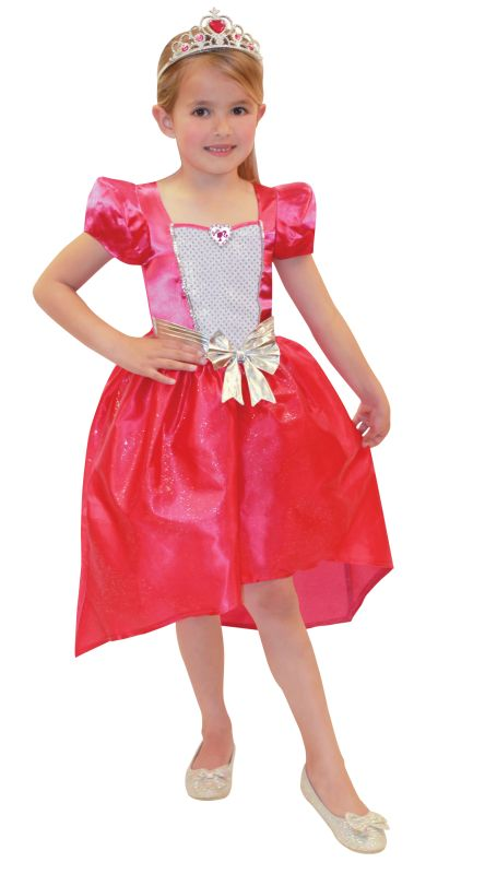 Barbie Princess Fancy Dress Costume Age 4-6years