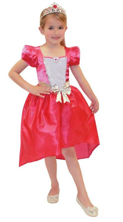 Barbie Princess Fancy Dress Costume Age 4-6years Thumbnail 1