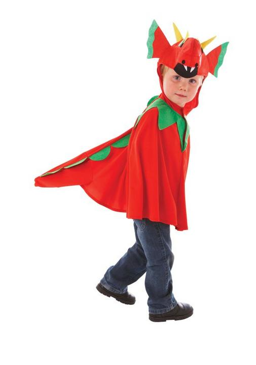 Boy's Friendly Dragon Tabard Fancy Dress Costume Thumbnail 1
