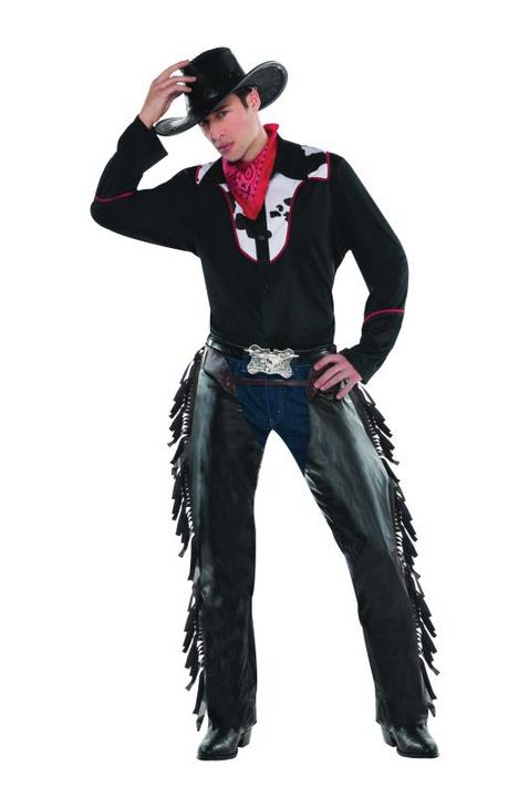 Mens Outlaw Pete Fancy Dress Costume  Thumbnail 1