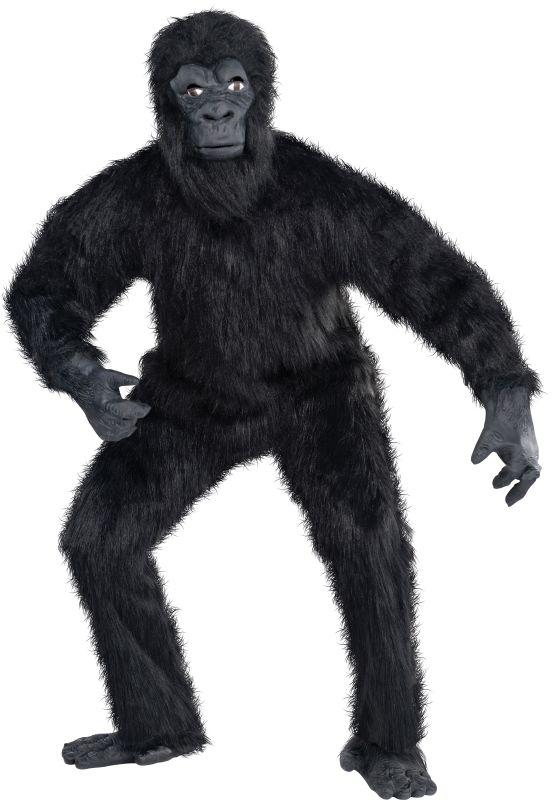 Gorilla Guy Fancy Dress Costume