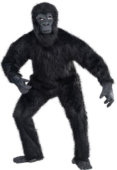 Gorilla Guy Fancy Dress Costume Thumbnail 1