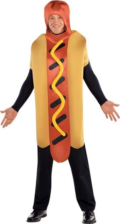 Adult Hot Diggety Dog Fancy Dress Costume  Thumbnail 1