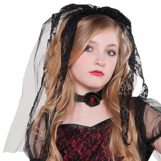 SALE! Kids Deadly Zombie Bride Girls Halloween Fancy Dress Teen Costume Outfit Thumbnail 2