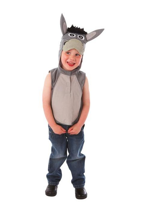 Childs Nativity Donkey Fancy dress Costume  Thumbnail 1
