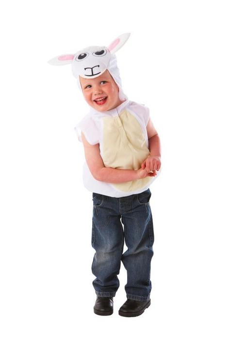 Childs Nativity Sheep Fancy Dress Costume  Thumbnail 1
