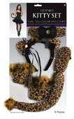 Ladies Leopard Kitty Set