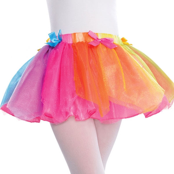 Girls Rainbow Fairy Tutu