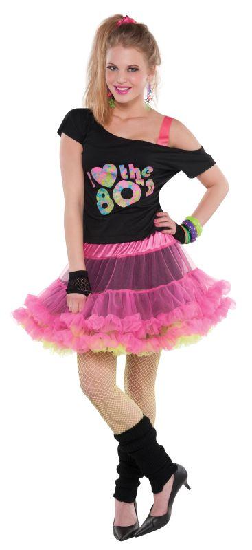 womens  Reversible 80s Skirt