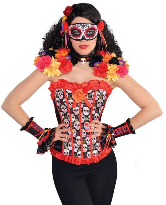 Womens Day of the Dead Epaulettess & Collar Thumbnail 1