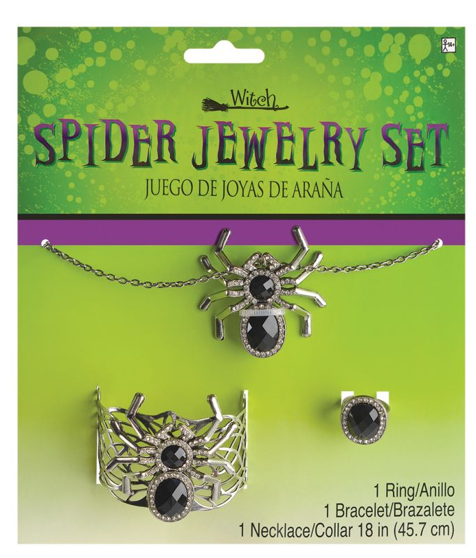 womens Spider Jewellery