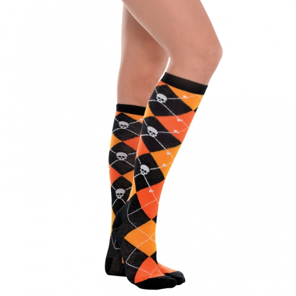 Women's Socks Orng Argile Knee High