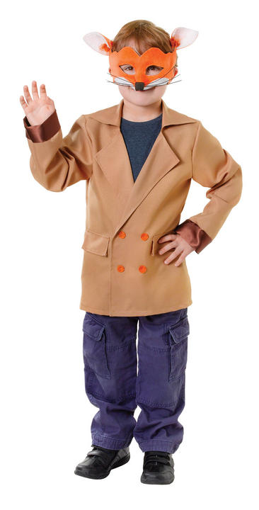 Boys Book Week Fox Jacket Kids Fancy Dress Outfit Thumbnail 3