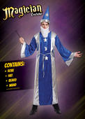 Mens Magican Robe Fancy Dress Costume