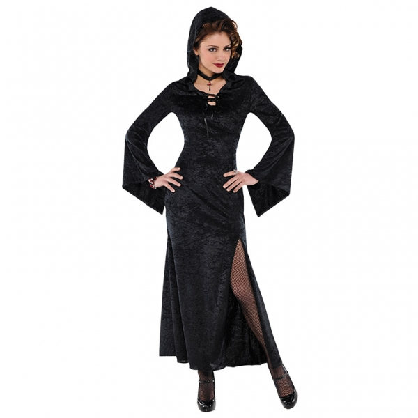 SALE! Adult Evil Enchantress Ladies Halloween Party Fancy Dress Costume Outfit