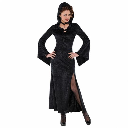 SALE! Adult Evil Enchantress Ladies Halloween Party Fancy Dress Costume Outfit Thumbnail 1