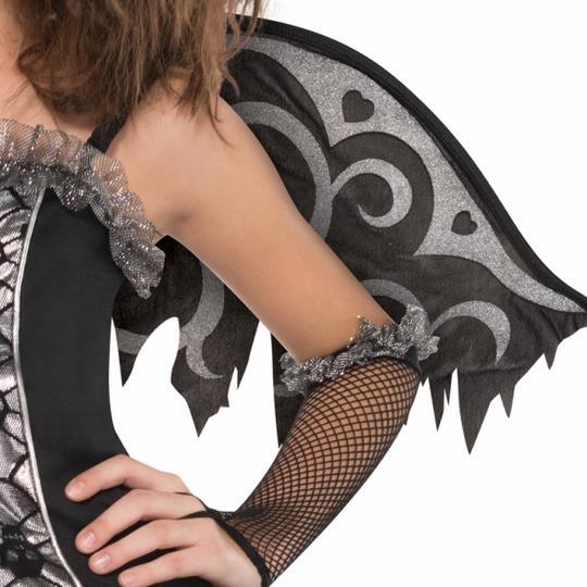 SALE! Teen Fallen Angel Girls Halloween Party Fancy Dress Childs Costume Outfit Thumbnail 3