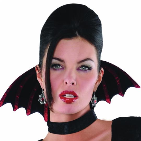 Adult Gothic Countess Vampiretta Ladies Halloween Fancy Dress Costume Outfit Thumbnail 5