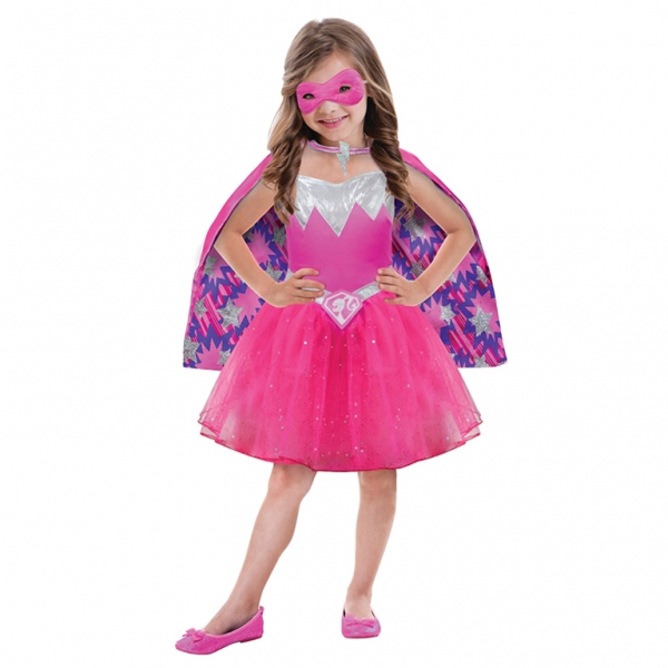 Barbie Power Princess Fancy Dress Costume