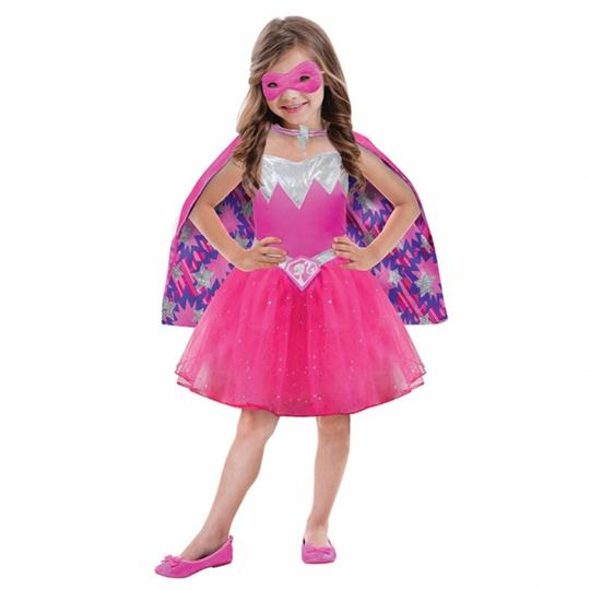 Barbie Power Princess Fancy Dress Costume  Thumbnail 1