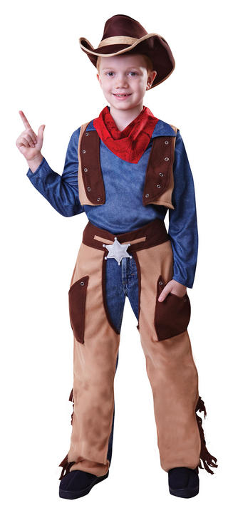 Cowboy Wild West Fancy Dress Costume Thumbnail 2
