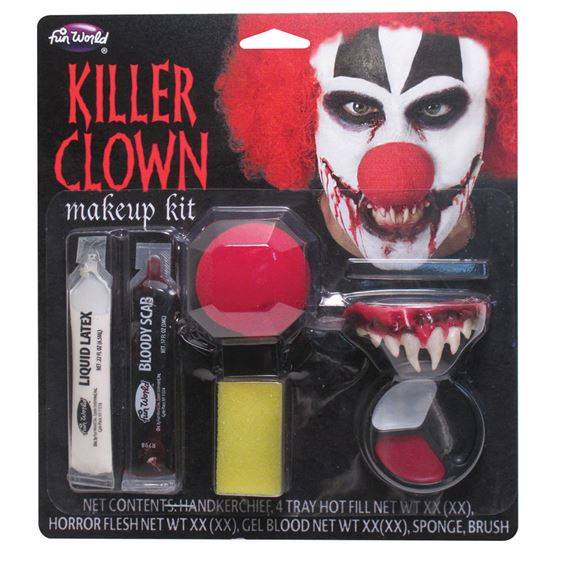Killer Clown Make Up