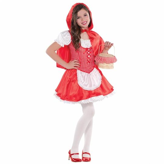 Lil Red Riding Hood Fancy Dress Costume  Thumbnail 1