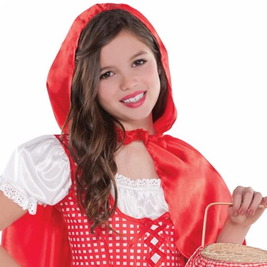 Lil Red Riding Hood Fancy Dress Costume  Thumbnail 2