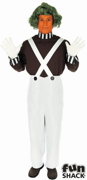 Factory Worker Fancy Dress Costume