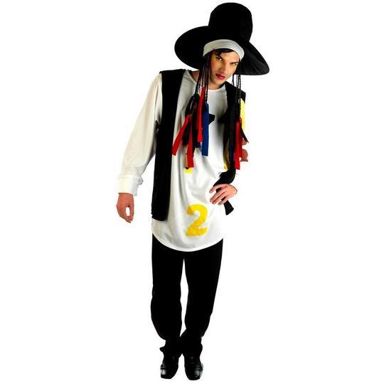 80s Pop Star Fancy Dress Costume  Thumbnail 1