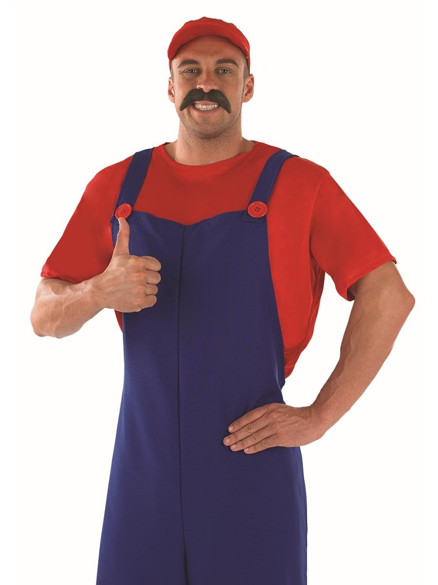 Red Plumbers Mate Fancy Dress Costume Thumbnail 1