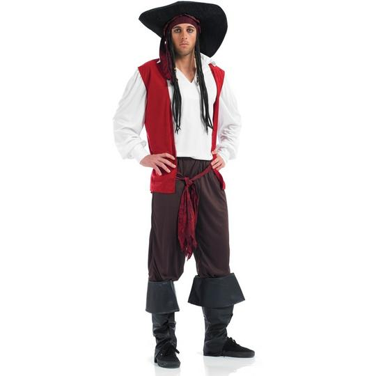 Pirate Fancy Dress Costume Thumbnail 1