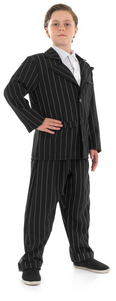 SALE! Kids 1920's Gangster Suit Boys Book Week Fancy Dress Childs Costume Outfit