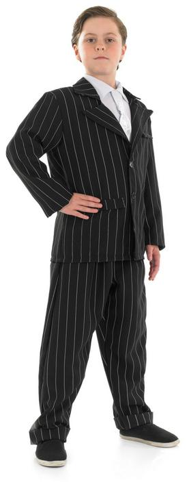 SALE! Kids 1920's Gangster Suit Boys Book Week Fancy Dress Childs Costume Outfit Thumbnail 1