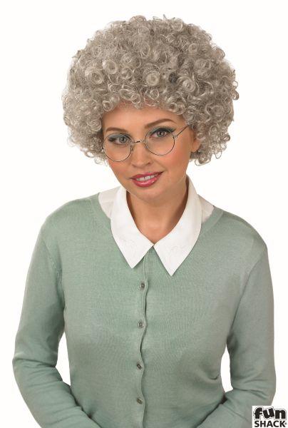 Grey Pop Wig