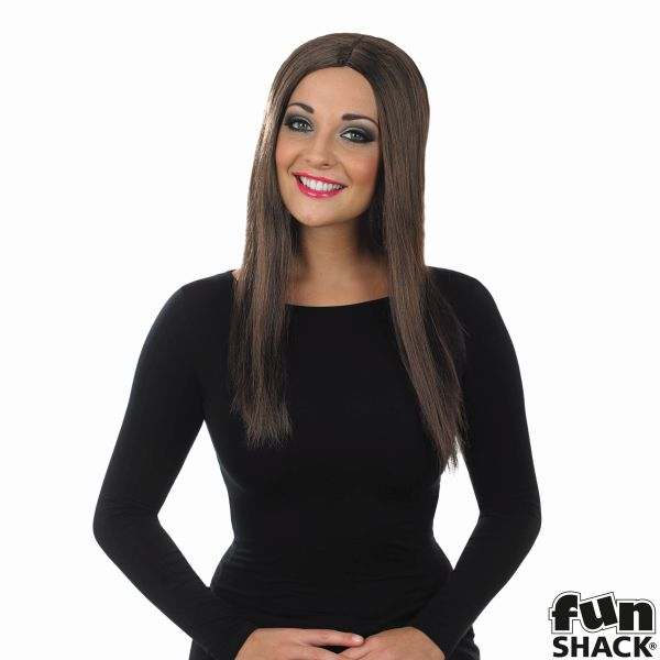 Womens Long Brown Wig