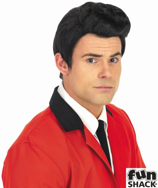Mens 50S Teddy Boy Wig Thumbnail 1